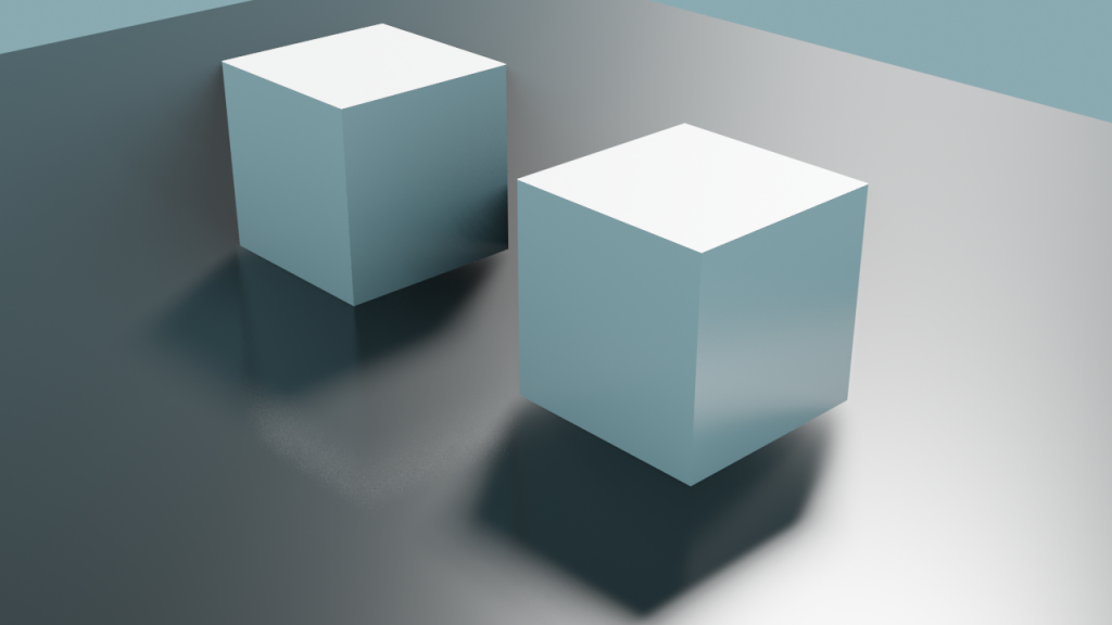 Blender Cubes Render
